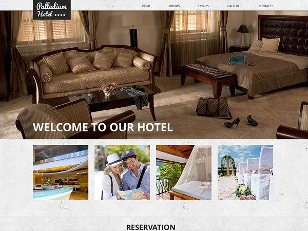 Palladium Hotel Template