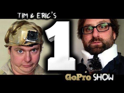 Широко известные в узких американских кругах комики Tim & Eric напялили на головы камеры GoPro и предлагают зрителю развлечься еще и так (Tim & Erics Go Pro Show)