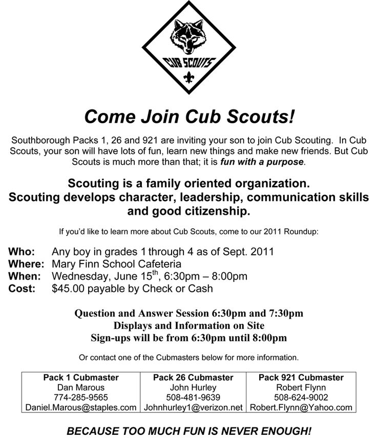 cub scout how to write a skit template