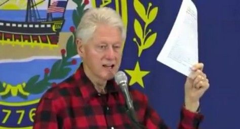 Watch: Bill Clinton's Health In Question After He Was Caught Doing This At Campaign Rally - http://conservativeread.com/watch-bill-clintons-health-in-question-after-he-was-caught-doing-this-at-campaign-rally/