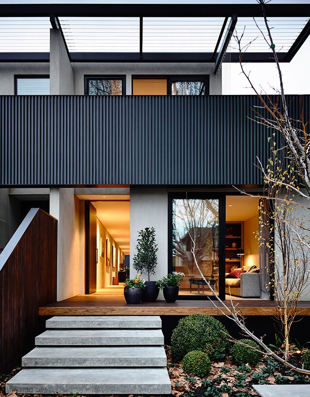 inForm design architects / elwood townhouse, melbourne
