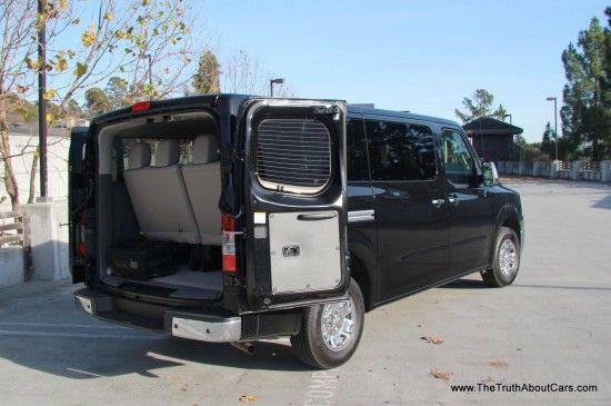 Review: 2013 Nissan NV3500 HD SL 12 Passenger Van (Video)