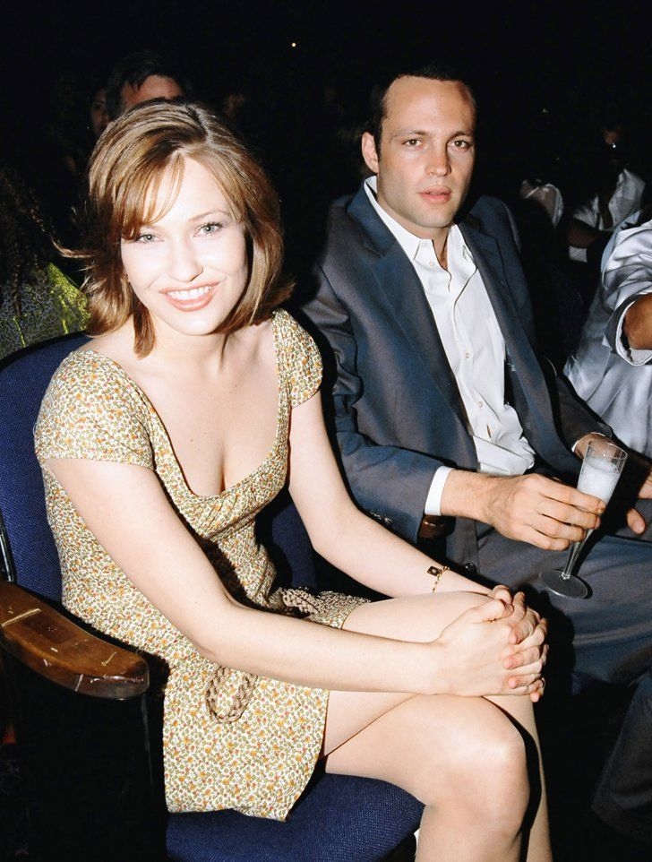 Pin for Later: The Most '90s-tastic Moments From the MTV Movie Awards Vince Vaughn sat with Big Daddy's Joey Lauren Adams.