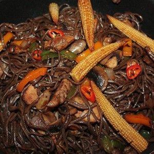 Гречневая лапша с курицей-терияки рецепт – китайская кухня: основные блюда. «Афиша-Еда»