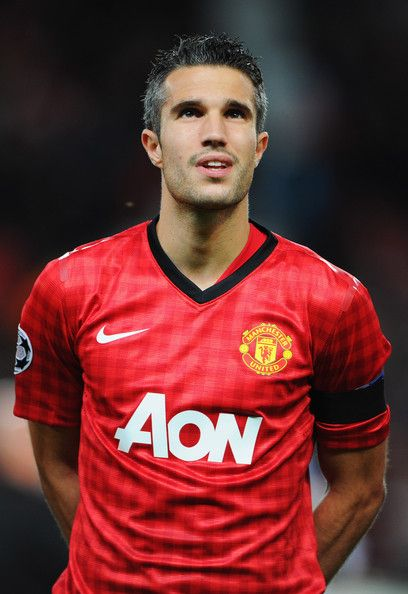 Manchester United Robert Van Persie...  He could go on my Eye Candy board too!