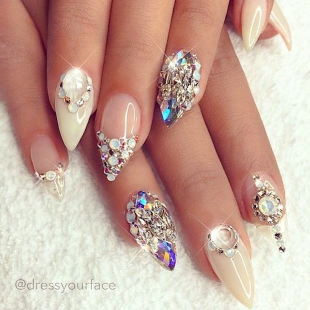 Stiletto Nail Art Fall Theme: 17 Best Ideas About Wedding Stiletto Nails On Pinterest
