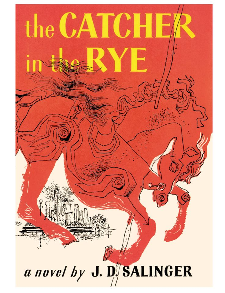 Novel: The Catcher in the Rye. The story is told by Holden Caulfield, a seventeen- year-old dropout who has just been kicked out of his fourth school. Throughout, Holden dissects the 'phony' aspects of society. Written with the clarity of a boy leaving childhood, it deals with society, love, loss, and expectations without ever falling into the clutch of a cliche. Shelf Location: F SAL. 2 copies