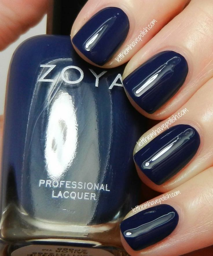 17 Best Ideas About Navy Nail Polish On Pinterest