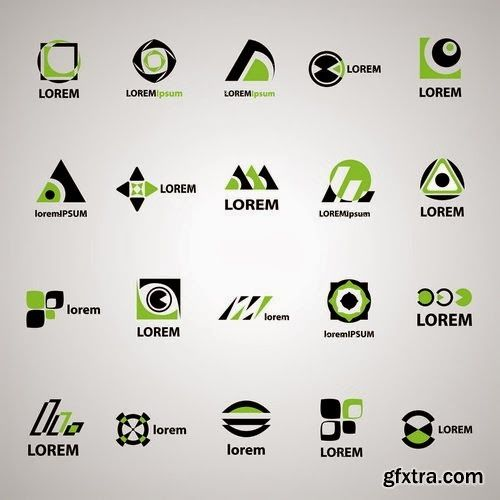 For weBDesigner: Beautiful a new collection of logos