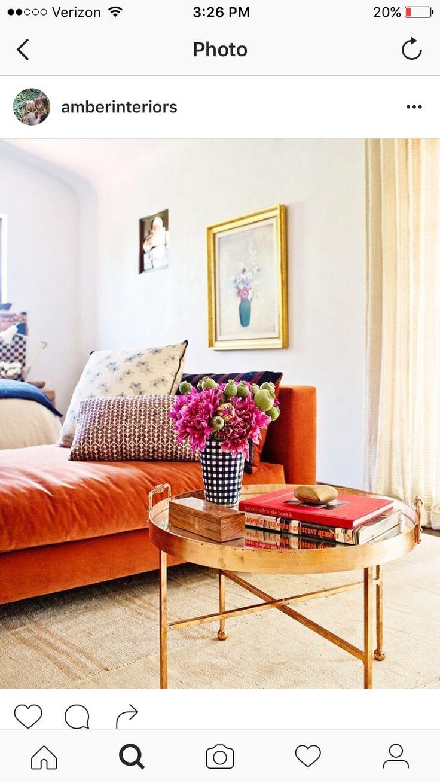Interior designer Frances Merrill mixes antique textiles with contemporary  furniture in this master bedroom.
