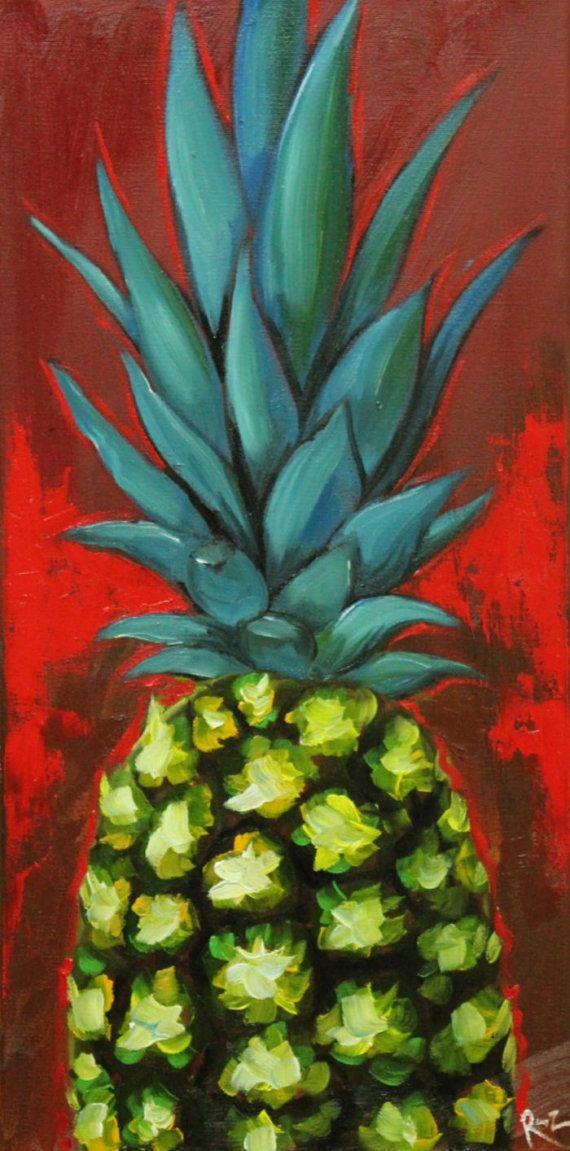 Best 25 Pineapple Painting Ideas On Pinterest Pineapple