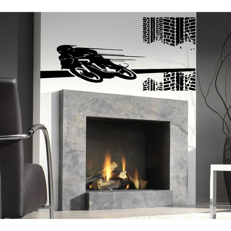 Motorcycle sports Wall Art Sticker Decal