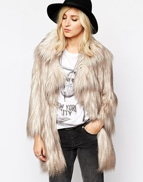 OBSESSED with this fur jacket, I'm getting serious seventies vibes from the shape! http://asos.to/1rMwfTV