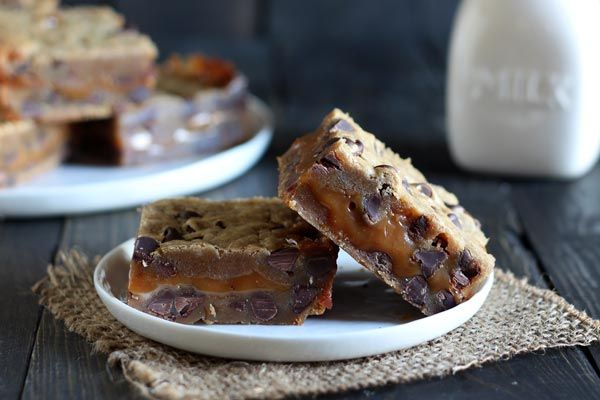 Recipe: Salted Caramel Cookie Bars