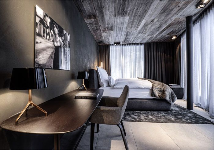 Kappl hotel in austria designed by manfred jager ab for Boutique hotel ischgl