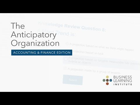 Revolutionary New Learning System Teaches CPAs How to Anticipate Future Trends and Game-Changing Opportunities
