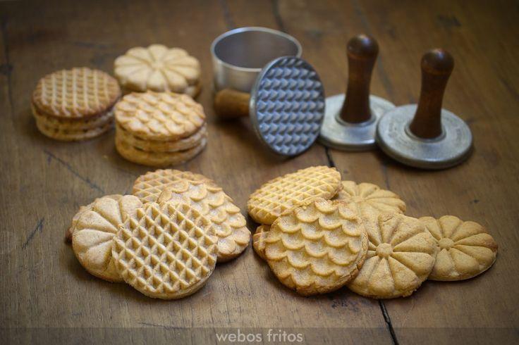 Galletas de turrón | webos fritos