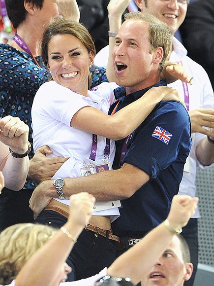 Prince William & Kate's Bucket List   CATCH OLYMPIC FEVER   Will and Kate were every inch the dream team as they cheered on Team GB at the 2012 Summer Olympics in London. They proved to be the Games's real winners, whether they were waving to royal watchers or, well, doing the wave.Next up: Attend the Oscars.