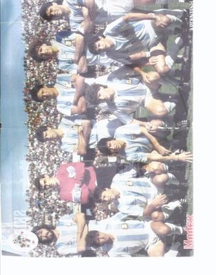 GREEK FOOTBALL TEAM POSTER ARGENTINH ARGENTINA
