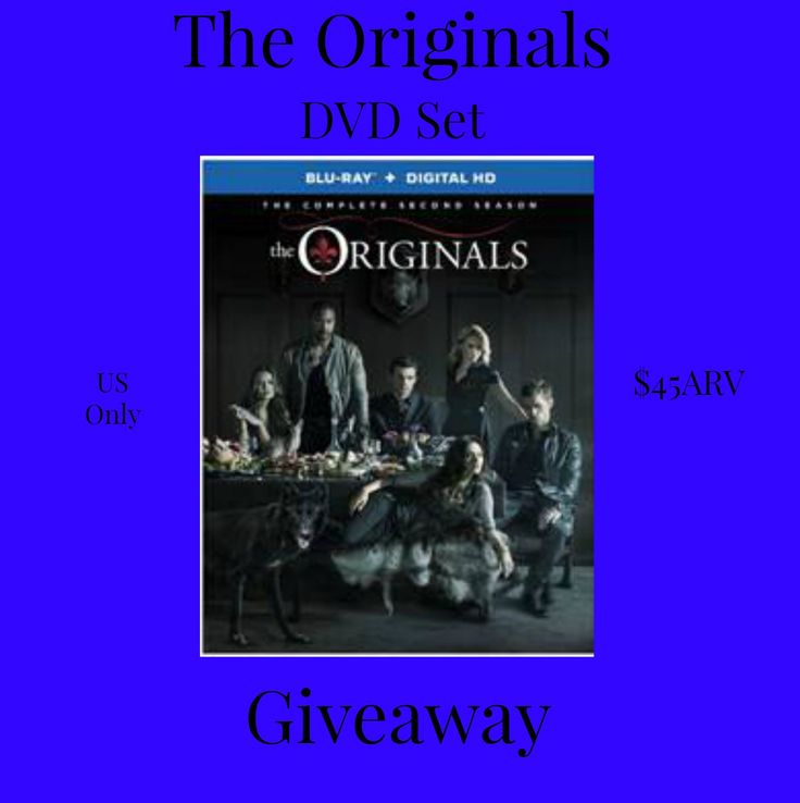 The Originals DVD Set Giveaway! 10/02 ~ Tales From A Southern Mom