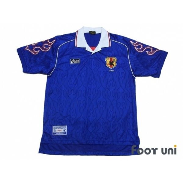 Photo1: Japan 1998 Home Shirt #asics - Football Shirts,Soccer Jerseys,Vintage Classic Retro - Online Store From Footuni Japan