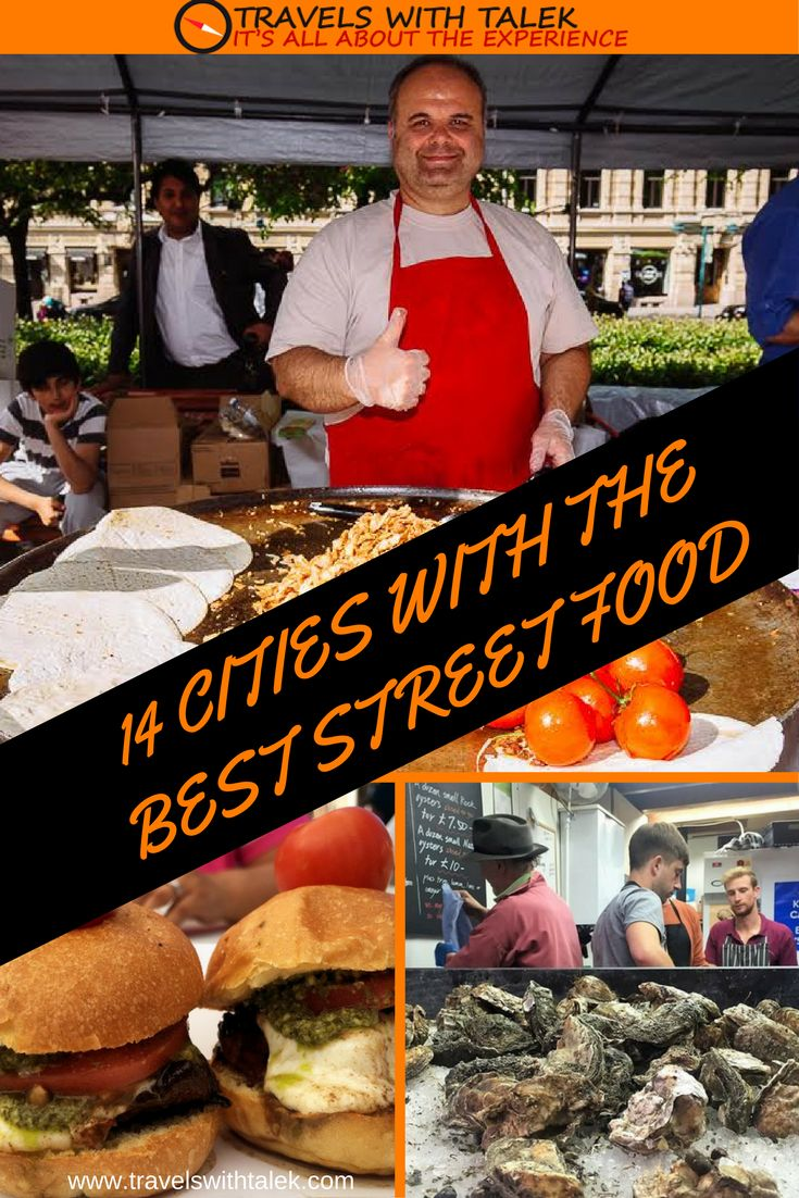 Cities with best street food. Read more for amazing good tips. #foodblog #travelblog