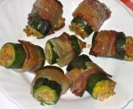 Zucchini Tuna Tubes