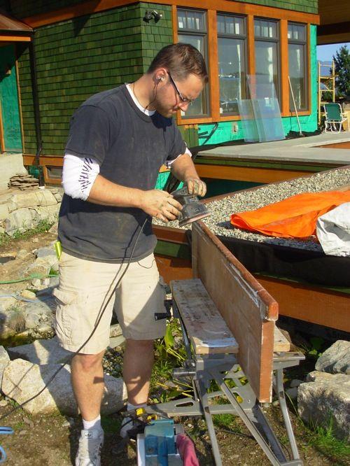Best Sanding Treads Stairs Olds Handyman 400 x 300