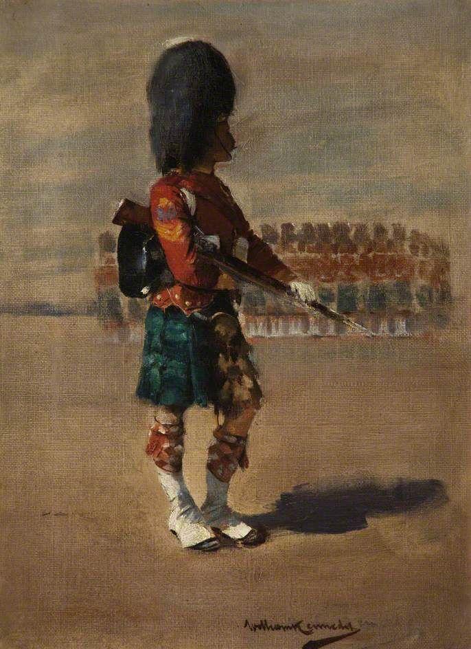 "viktor-sbor: ""William J. Kennedy (1859–1918)- A Sergeant on a Parade """