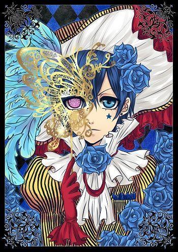 Poster Black Butler Kuroshitsuji Ciel - Neuf et d'occasion