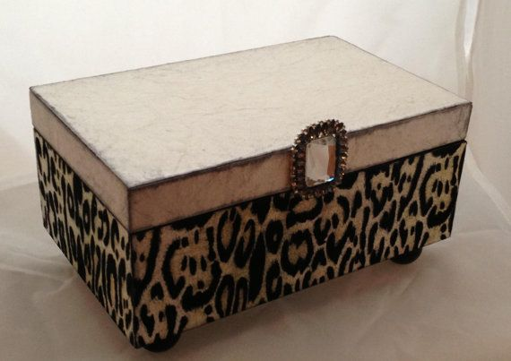 Animal Print Decorative Box
