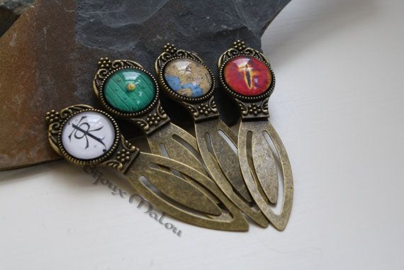 Lord of The Rings Bookmark Hobbit Bookmark Hobbit by BijouxMalou, £7.20