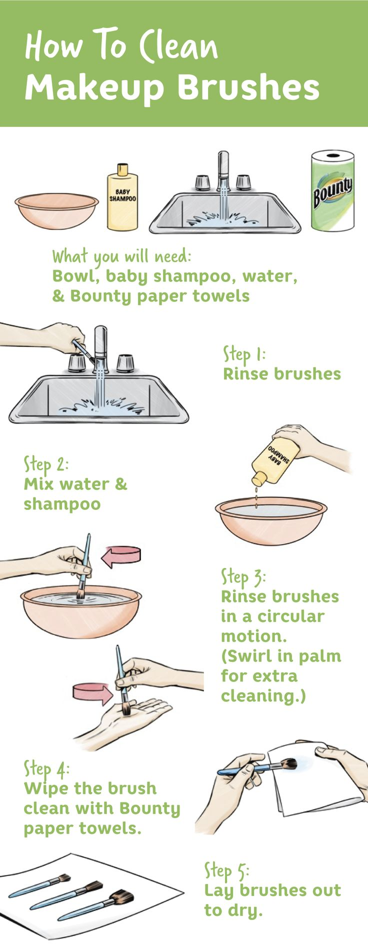 Best Clean Makeup Brushes Ideas On Pinterest Brush Cleaning