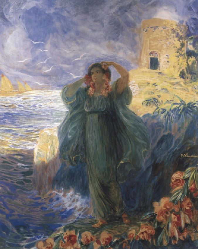 silenceforthesoul: Plinio Nomellini - Lady of the Sea ♥