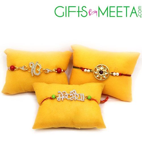More Buy #online #Stone #Rakhi for your loving #brother with #free #shipping in #India. Read more:https://goo.gl/lNqnCs