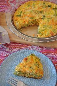 :) pastel de broccoli y zanahoria   Más en https://lomejordelaweb.es
