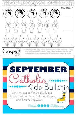 catholic kindergarten lessons coloring pages - photo#39