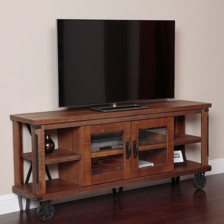 Industrial 73 wide TV Console - Overstock™ Shopping - Great Deals on Entertainment Centers