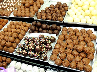 Swiss Chocolate Truffles! I could make my own if I went on the People to People trip!