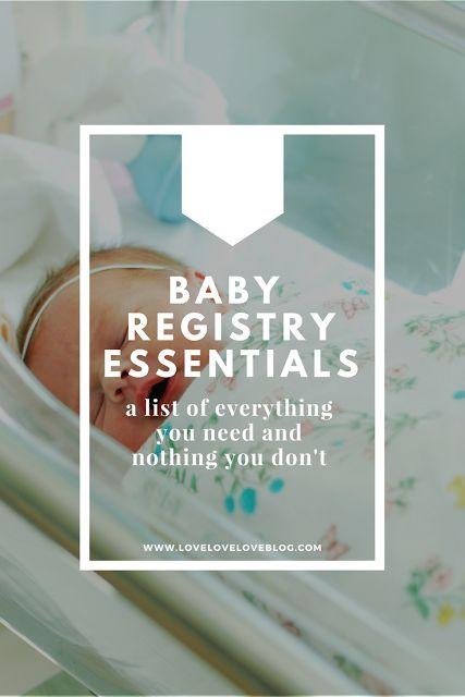 The 25+ best Baby registry items ideas on Pinterest Baby - baby registry checklist