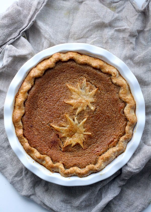 This Canadian maple syrup pie is a decadent Winter treat that fills your home with the maple syrup aroma. Get this pie recipe at PBS Food.