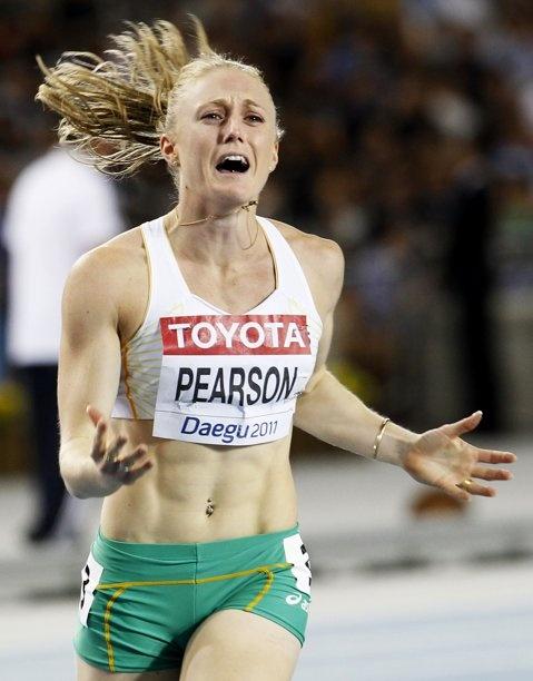 Sally Pearson, hurdles Australian athlete.