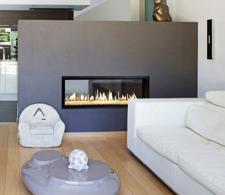 double sided fire places - Bing Images