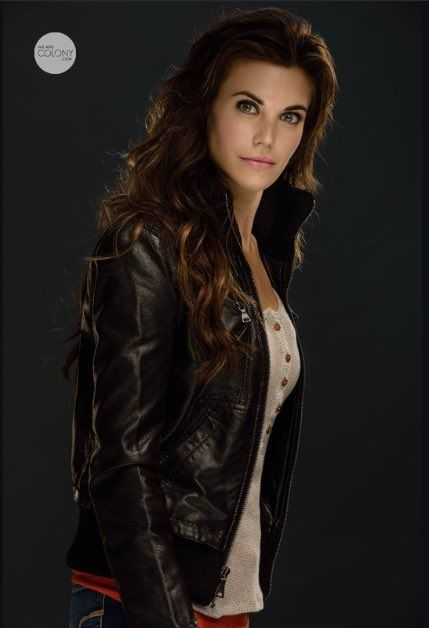 Meghan Ory as maybe Kriss?