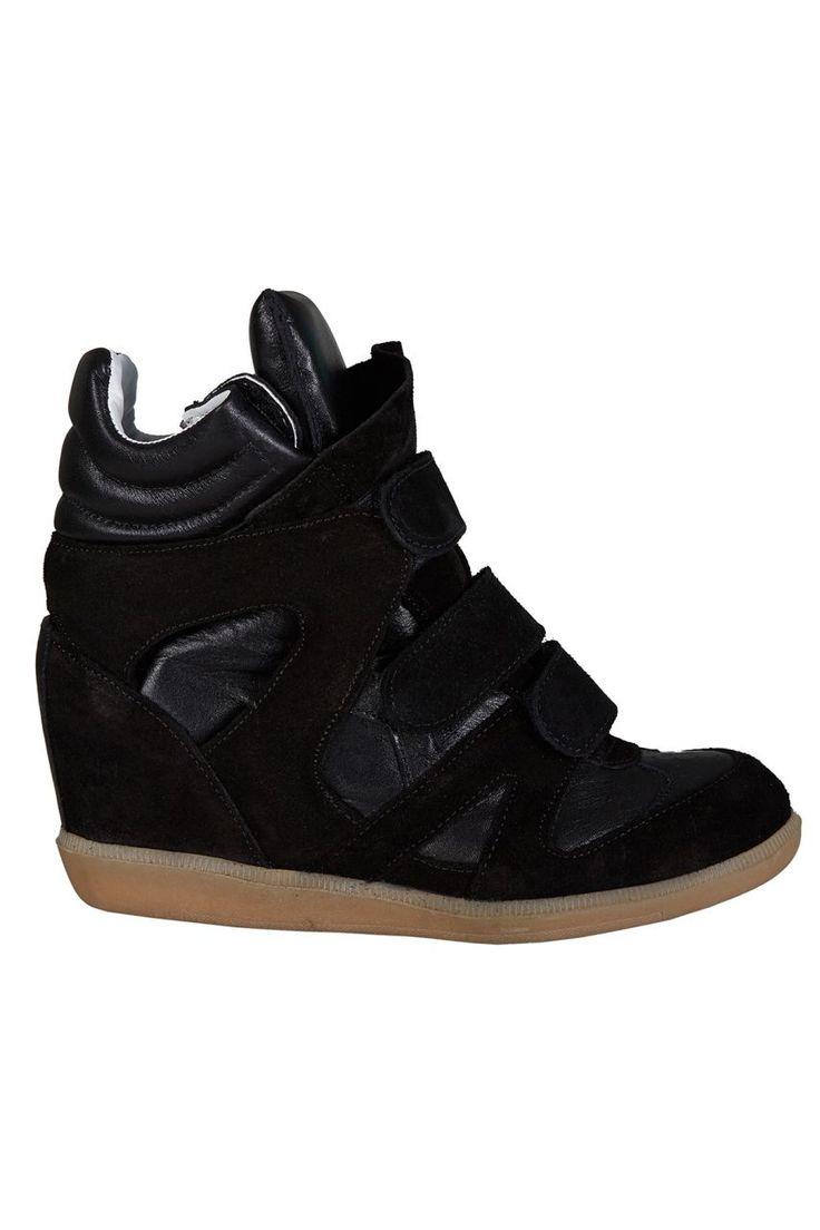 Dolgu Topuklu Spor Ayakkabı - Siyah İnci | Trendy Topuk | Trendy Topuk | Ayakkabı | 150 TL ve üzeri alışverişlerinizde Kargo ücretsiz