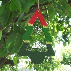 Australian Christmas Tree Decoration - Bush/Forest. The Christmas tree has a long history that is both Pagan and Christian. In Norse nature worship – branches or trees were bought inside homes and decorated. With the marriage of Princess Victoria to Prince Albert of Germany (1848), the custom of the Christmas tree came to England and was celebrated in Windsor Palace from that time on. $6.50au, handcrafted in Australia. .