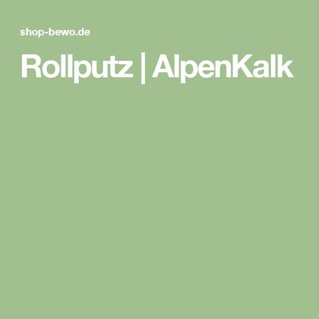 Rollputz   AlpenKalk