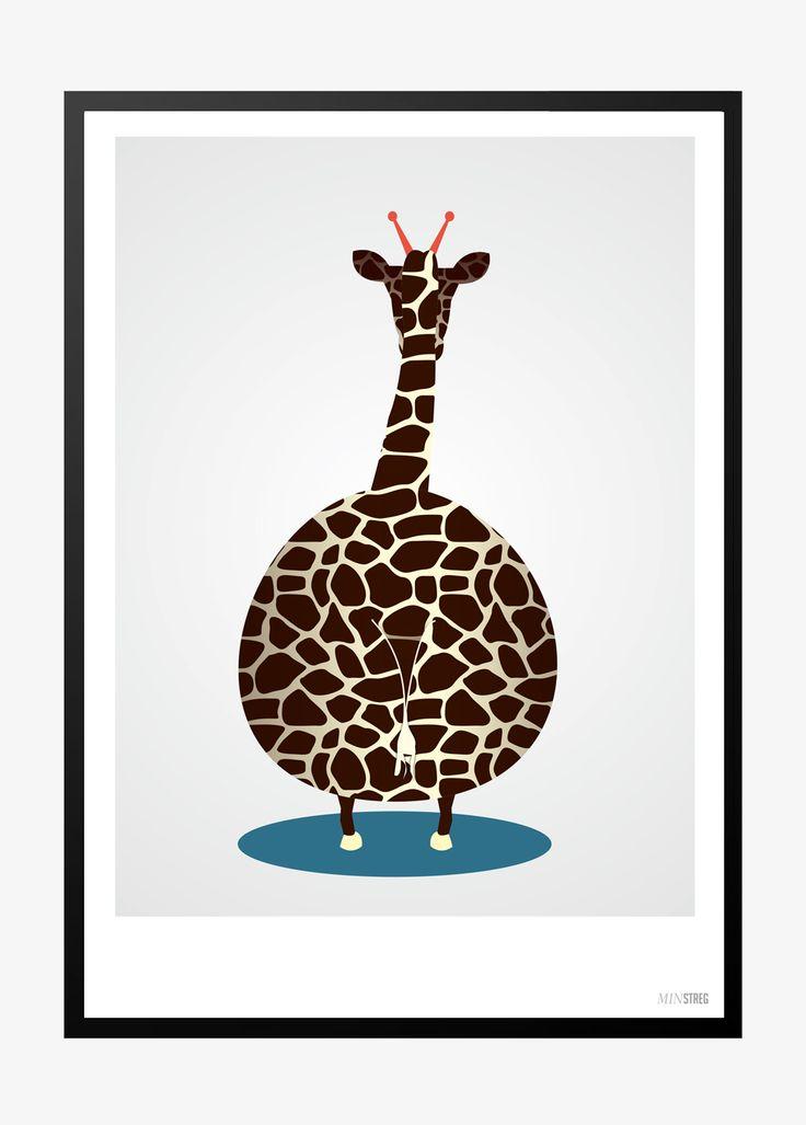 Giraf | Min streg