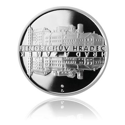 Stříbrná medaile Zámek Jindřichův Hradec proof | Česká mincovna