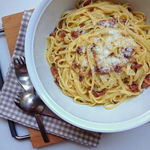 Greenway36 - der Foodblog mit #pillefüße: Spaghetti Carbonara nach Cornelia Poletto                                                                                                                                                      Mehr